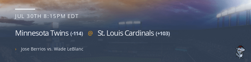 Minnesota Twins @ St. Louis Cardinals - July 30, 2021