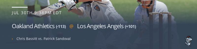 Oakland Athletics @ Los Angeles Angels - July 30, 2021