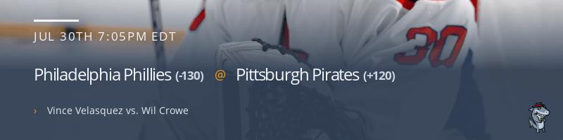 Philadelphia Phillies @ Pittsburgh Pirates - July 30, 2021