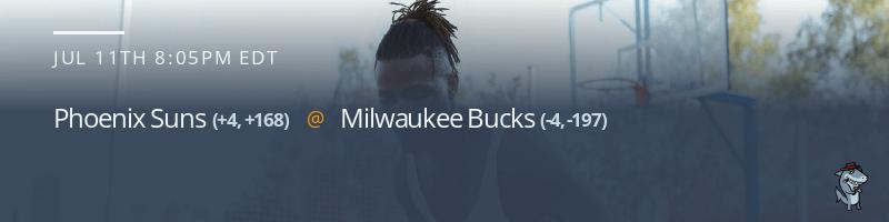 Phoenix Suns vs. Milwaukee Bucks - July 11, 2021