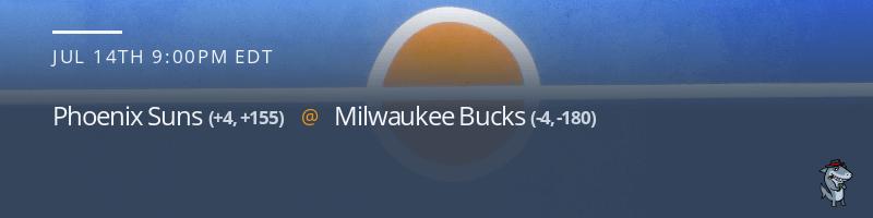 Phoenix Suns vs. Milwaukee Bucks - July 14, 2021