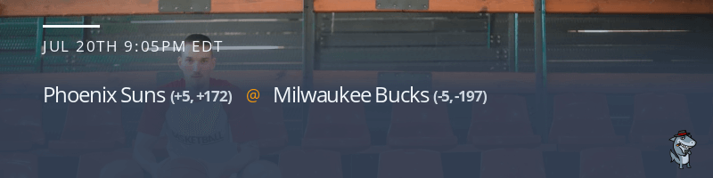 Phoenix Suns vs. Milwaukee Bucks - July 20, 2021