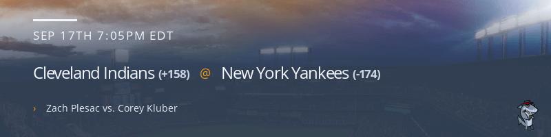 Cleveland Indians @ New York Yankees - September 17, 2021