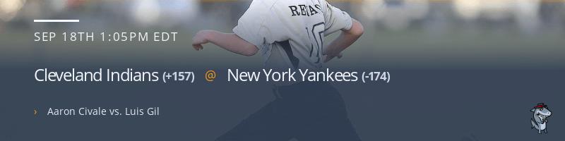 Cleveland Indians @ New York Yankees - September 18, 2021