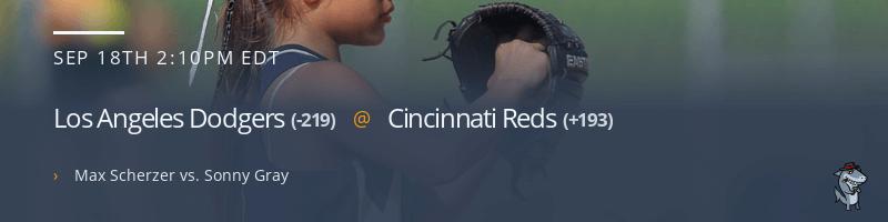Los Angeles Dodgers @ Cincinnati Reds - September 18, 2021