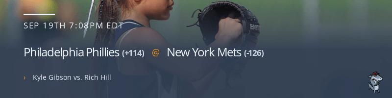 Philadelphia Phillies @ New York Mets - September 19, 2021